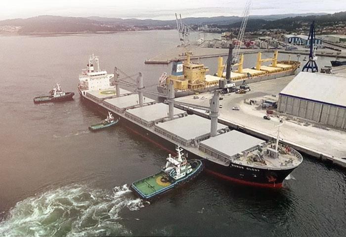 Buques en puerto