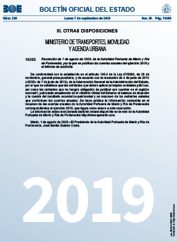 Cuentas 2019