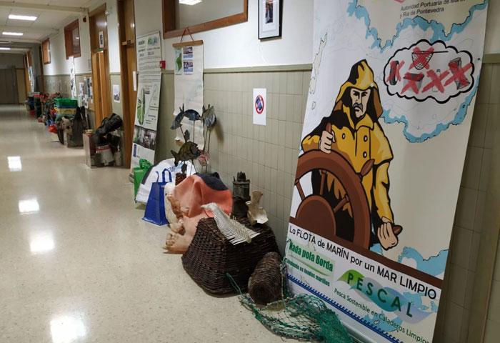 La Autoridad Portuaria colabora con las jornadas de sostenibilidad del IES Chan do Monte