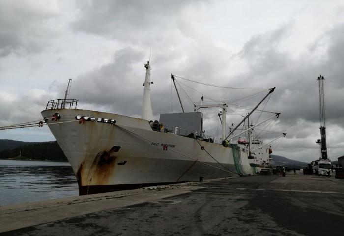 Se intensifica la campaña de descargas de pesca congelada  con la descarga de 5 buques